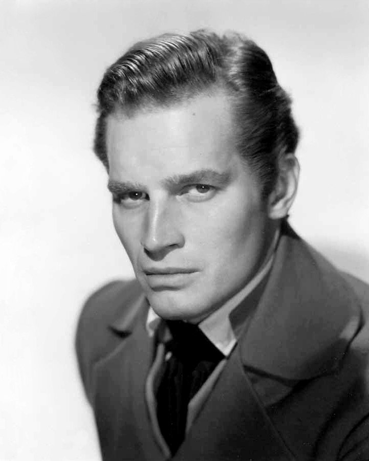"CHARLTON HESTON IN THE FILM ""THE PRESIDENT'S LADY"" 8X10 PUBLICITY PHOTO (DA-727)"