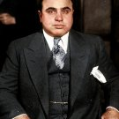 "AL CAPONE LEGENDARY GANGSTER & BOSS OF THE ""CHICAGO OUTFIT"" 8X10 PHOTO (OP-038)"