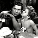 "JOHNNY WEISSMULLER & JOHNNY SHEFFIELD ""TARZAN FINDS A SON"" - 8X10 PHOTO (AB-152)"