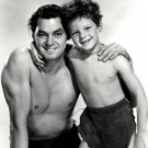 "JOHNNY WEISSMULLER & JOHNNY SHEFFIELD ""TARZAN FINDS A SON"" - 8X10 PHOTO (AB-160)"