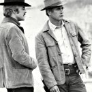 "ROBERT REDFORD PAUL NEWMAN ""BUTCH CASSIDY & THE SUNDANCE KID"" 8X10 PHOTO (EE-139)"