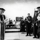 PRESIDENT JOHN F KENNEDY AT AMERICAN UNIVERSITY COMMENCEMENT 8X10 PHOTO (BB-081)