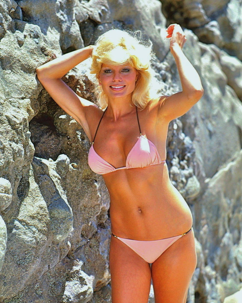 ACTRESS LONI ANDERSON - 8X10 PUBLICITY PHOTO (BB-090)