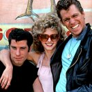 "JOHN TRAVOLTA, OLIVIA NEWTON-JOHN & JEFF CONAWAY IN ""GREASE"" 8X10 PHOTO (OP-057)"