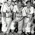 ST. LOUIS CARDINALS HOFs STAN MUSIAL, JOE MEDWICK & ENOS SLAUGHTER - 8X10 PHOTO (ZZ-191)