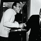 HARRY BELAFONTE CUTS UP WITH REV. MARTIN LUTHER KING, JR. - 8X10 PHOTO (AA-146)