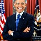 PRESIDENT BARACK OBAMA 44TH PRESIDENT OF THE UNITED STATES - 8X10 PHOTO (AA-770)