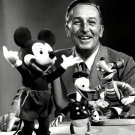 WALT DISNEY AND SOME OF HIS WELL-KNOWN CHARACTERS 8X10 PUBLICITY PHOTO (AB-166)