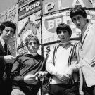 """THE WHO"" LEGENDARY ROCK BAND IN PICCADILLY CIRCUS 8X10 PUBLICITY PHOTO (ZZ-019)"