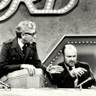 """ALLEN LUDDEN AND WERNER KLEMPERER ON """"PASSWORD"""" - 8X10 PUBLICITY PHOTO (ZZ-470)"""