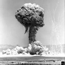 EXPLOSION PLUME FROM OPERATION TEAPOT NUCLEAR TEST IN 1955 - 8X10 PHOTO (EP-041)