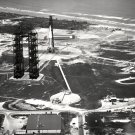 AERIAL VIEW OF LAUNCH COMPLEX 34 AT CAPE CANAVERAL - 8X10 NASA PHOTO (BB-122)