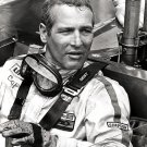 PAUL NEWMAN IN RACE CAR - 8X10 PUBLICITY PHOTO (DD-032)