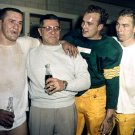 VINCE LOMBARDI, PAUL HORNUNG & BART STARR GREEN BAY PACKERS 8X10 PHOTO (DD-072)