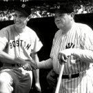 TED WILLIAMS & BABE RUTH APPEAR TOGETHER @ FENWAY PARK 1943 8X10 PHOTO (EE-159)