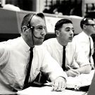 GEMINI 8 CAPCOM JIM LOVELL BILL ANDERS MISSION CONTROL 8X10 NASA PHOTO (AA-384)