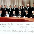 NASA's ASTRONAUT GROUP 3 (WITH SIMULATED AUTOGRAPHS) 8X10 SPACE PHOTO (AA-502)