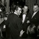 DEAN MARTIN & FRANK SINATRA RAT PACK BACKSTAGE AT SANDS - 8X10 PHOTO (AA-357)