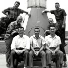 ORIGINAL MERCURY SEVEN 7 ASTRONAUTS - 8X10 NASA PHOTO (AA-703)