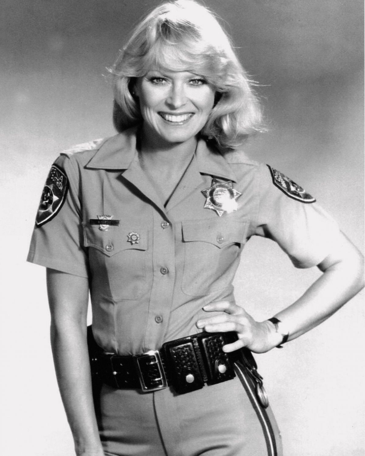 RANDI OAKES IN THE TV SERIES CHiPs - 8X10 PUBLICITY