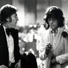 TWO ROCK MUSIC LEGENDS: JOHN LENNON & MICK JAGGER 8X10 PUBLICITY PHOTO (AZ-142)