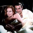 "SEAN CONNERY & LUCIANA PALUZZI ON SET ""THUNDERBALL"" 8X10 PUBLICITY PHOTO (AZ082)"