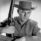 "STEVE McQUEEN WITH ""MARE'S LEG"" IN ""WANTED DEAD OR ALIVE"" - 8X10 PHOTO (AZ055)"