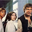 "MARK HAMILL, CARRIE FISHER AND HARRISON FORD IN ""STAR WARS"" 8X10 PHOTO (ZY-318)"