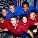 SPACE SHUTTLE COLUMBIA STS-107 CREW IN-FLIGHT PICTURE - 8X10 NASA PHOTO (EP-069)
