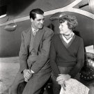 CARY GRANT WITH AVIATOR AMELIA EARHART - 8X10 PHOTO (ZZ-240)