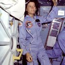 SALLY RIDE - FIRST AMERICAN FEMALE IN SPACE ON STS-7 - 8X10 NASA PHOTO (AA-290)