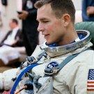 ASTRONAUT DAVE SCOTT SUITS UP PRIOR TO GEMINI 8 LAUNCH 8X10 NASA PHOTO (AA-333)