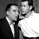 "GARRY MOORE w/ GUEST JOHNNY CARSON ON ""I'VE GOT A SECRET"" - 8X10 PHOTO (DA-771)"