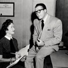 "GEORGE REEVES & NOEL NEILL ""ADVENTURES OF SUPERMAN"" - 8X10 PUBLICITY PHOTO (DA-447)"