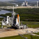 SPACE SHUTTLES ATLANTIS & ENDEAVOUR ON LAUNCH PADS IN 2008 - 8X10 PHOTO (AA-181)