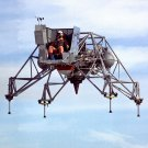APOLLO LUNAR LANDING RESEARCH VEHICLE IN FLIGHT - 8X10 NASA PHOTO (EP-081)