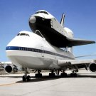 SPACE SHUTTLE ENTERPRISE ATOP THE SHUTTLE CARRIER AIRCRAFT - 8X10 PHOTO (EP-085)