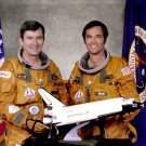 SPACE SHUTTLE STS-1 CREW JOHN YOUNG & ROBERT CRIPPEN - 8X10 NASA PHOTO (EP-500)