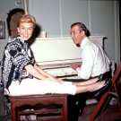 "JAMES STEWART DORIS DAY ON SET ""THE MAN WHO KNEW TOO MUCH"" - 8X10 PHOTO (DD-186)"