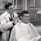 """HOWARD McNEAR AS """"FLOYD"""" w/ SHERIFF """"THE ANDY GRIFFITH SHOW"""" 8X10 PHOTO (BB-620)"""