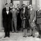 PILOT AMELIA EARHART TOURS LANGLEY RESEARCH BUILDING 1928 - 8X10 PHOTO (EP-259)