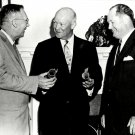 DWIGHT D. EISENHOWER w/ T. KEITH GLENNAN & HUGH DRYDEN 8X10 NASA PHOTO (EP-092)
