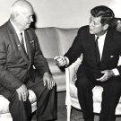 PRESIDENT JOHN F. KENNEDY NIKITA KHRUSHCHEV IN VIENNA 1961 - 8X10 PHOTO (EP-625)