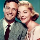 "LAUREN BACALL & ROBERT STACK IN ""THE GIFT OF LOVE"" 8X10 PUBLICITY PHOTO (DA-143)"