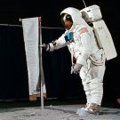 BUZZ ALDRIN APOLLO 11 ASTRONAUT DURING TRAINING - 8X10 NASA PHOTO (ZZ-586)
