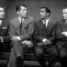 THE RAT PACK LAWFORD, DEAN MARTIN, DAVIS JR., FRANK SINATRA 8X10 PHOTO (AA-147)