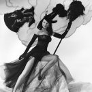 ACTRESS DUSTY ANDERSON PIN-UP - 8X10 HALLOWEEN THEMED PUBLICITY PHOTO (ZY-370)
