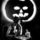ACTRESS MYRNA LOY - 8X10 HALLOWEEN THEMED PUBLICITY PHOTO (ZY-369)