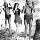 "JOHNNY WEISSMULLER & MAUREEN O'SULLIVAN IN ""TARZAN'S NEW YORK ADVENTURE"" 8X10 PHOTO (AB-203)"