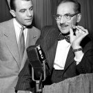 "GROUCHO MARX AND GEORGE FENNEMAN IN ""YOU BET YOUR LIFE"" - 8X10 PHOTO (DA-781)"